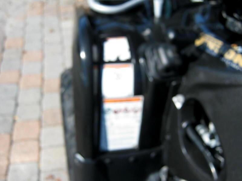 2004 Suzuki LT-A500F Vinson 4x4 Fully Automatic 500cc NEW Aggressive ti