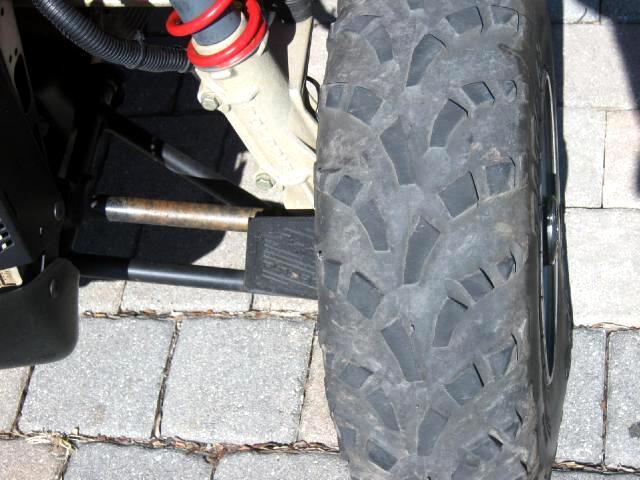 2001 Polaris ATV Scrambler 500cc 4x4 sport utility ATV