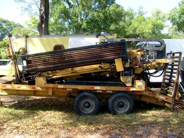 1999 Vermeer Boring Machine D16X20A Directional Drill with mixer and trailer