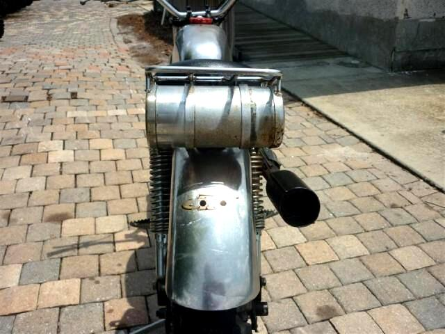 1973 Custom Motorcycle Custom Hodaka Wombat 125 2 stroke chromed out retro dirt