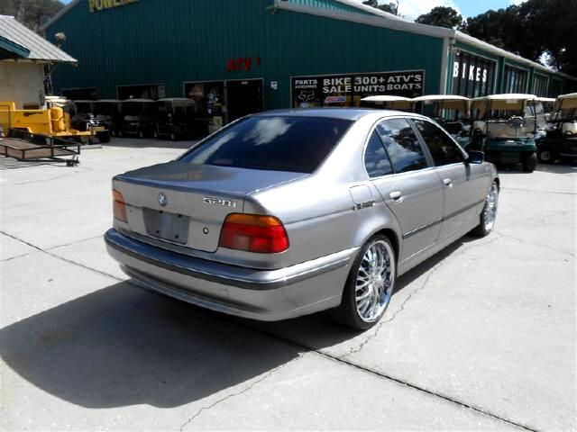 used 1997 bmw 5 series 528i 20 inch chrome wheels smooth ride for sale in deland fl 32720. Black Bedroom Furniture Sets. Home Design Ideas