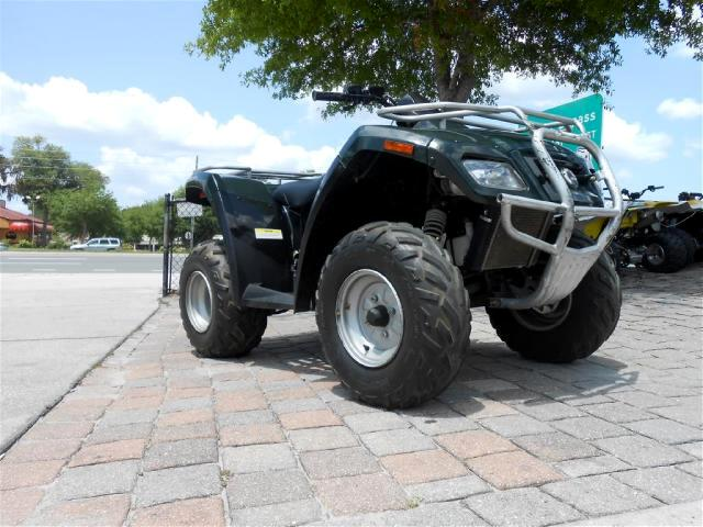 2006 Bombardier Rally 200cc 4 wheeler 2 wheel drive Front and Rear Racks