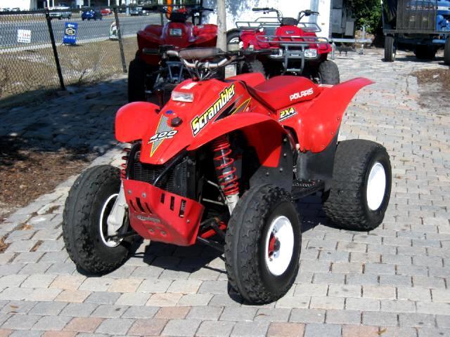 2001 Polaris ATV Scrambler 400cc 4 wheeler 2 stroke