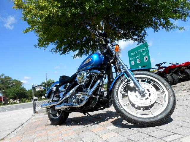 1993 Harley-Davidson FXLR Dyna Low Rider Very clean runs great