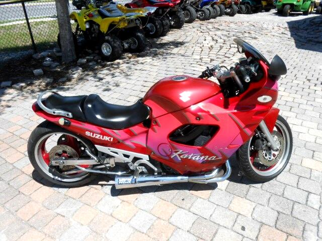 1992 Suzuki GSX600F Katana Lowered and stretched air shifter super coo