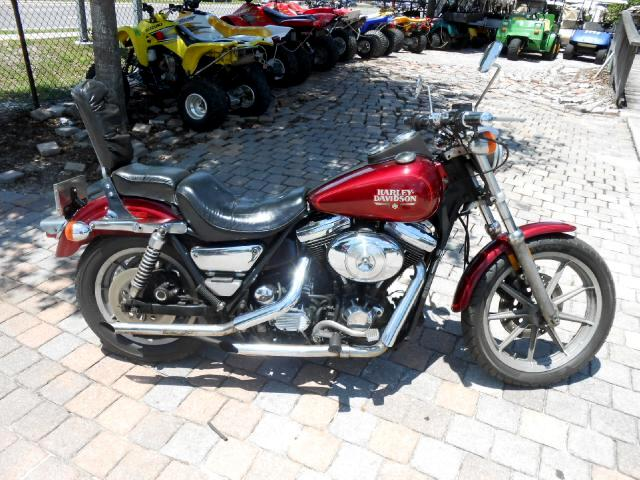 1988 Harley-Davidson FXRS Dyna Lowrider with Drag Bars and drag pipes