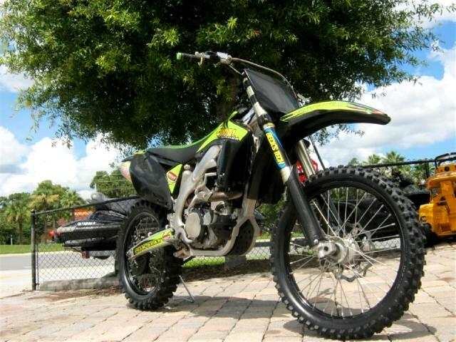 2010 Kawasaki KX450-E SuperCross Racing Dirt Bike