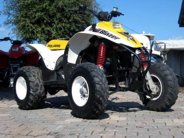 1999 Polaris ATV Trailblazer 2 stroke 250cc Runs great