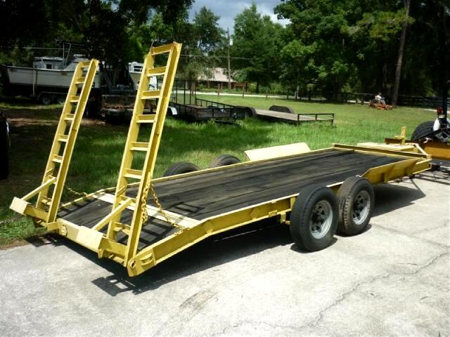 1988 Anderson Equipment Trailer pindle hitch exteded width