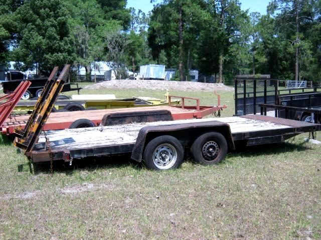 1992 Anderson Equipment Trailer 7x20 with ramps