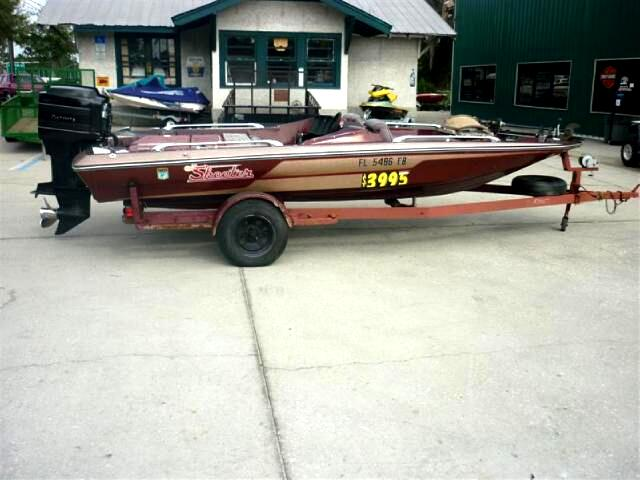 1983 Skeeter 20i Bass boat with motor and trailer