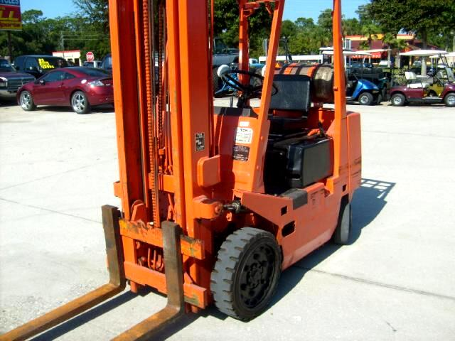 1989 TMC Fork Lift Propane Powered no leaks runs great