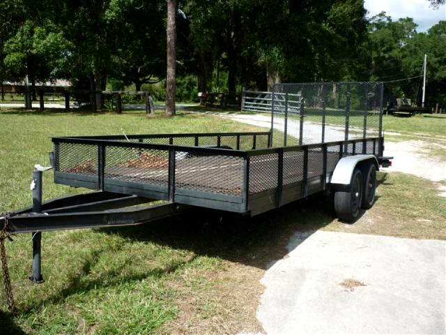 1987 AllPro Utility Trailers 6x12 nice shape