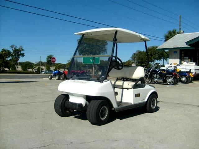 2001 Club Car Golf Cart Electric Golf Cart good batteries with charger