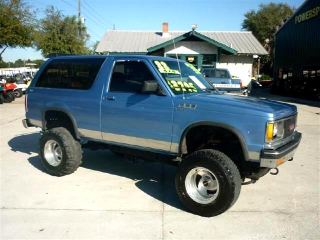 1988 Chevrolet S10 Blazer lift kit 350 swap