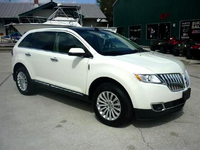 2012 Lincoln Lincoln MKX AWD LOADED LOW MILEAGE WOW