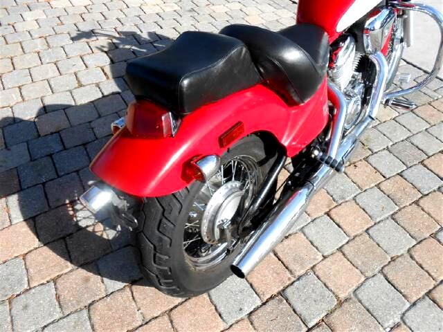 1994 Honda VT600CD Spoke Wheel Two toned crash bars