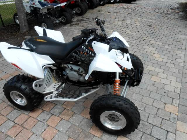 used 2007 polaris atv out law 525 sport 4 wheeler for sale in deland fl 32720 richard bell auto. Black Bedroom Furniture Sets. Home Design Ideas