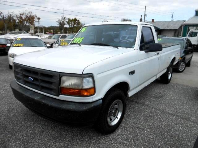 used 1996 ford f 150 xl reg cab long bed 2wd for sale in deland fl 32720 richard bell auto. Black Bedroom Furniture Sets. Home Design Ideas