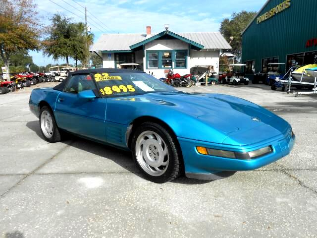 1992 Chevrolet Corvette Convertible LT1 v8 engine new tires clean car