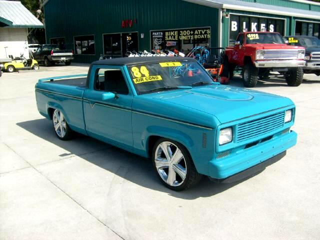 1984 Ford Ranger Chop Top Lowered 4 inches 302 v8 conversion Chrome