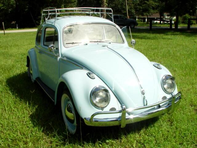 1963 Volkswagen Beetle Fully Restored white walls converted to 12v 1600 d