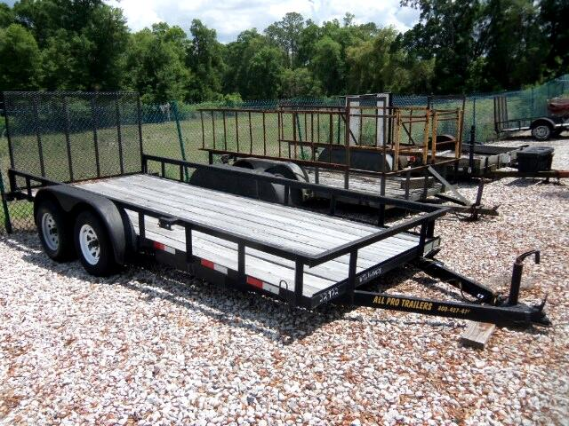 2013 AllPro Utility Trailers Tandem Axle