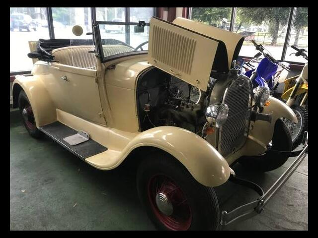 1929 Ford Model A roadster convertible