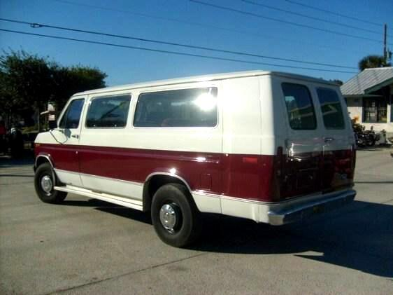 New 1989 Ford E-350 E350 Extended Van with large seating ...