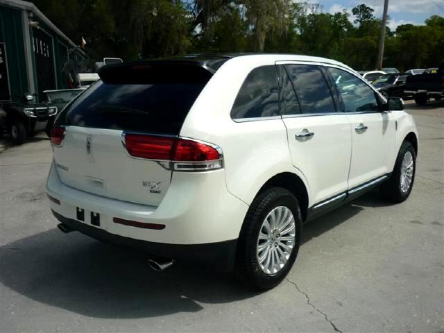 buy here pay here 2012 lincoln lincoln mkx awd loaded low mileage wow for sale in deland fl. Black Bedroom Furniture Sets. Home Design Ideas