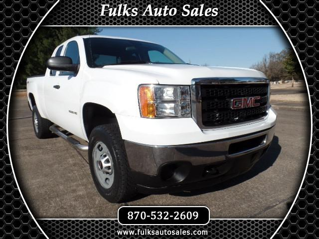 2011 GMC Sierra 2500HD Work Truck Ext. Cab 4WD