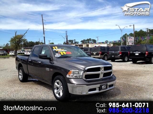 2017 RAM 1500 SLT Crew Cab Short Bed