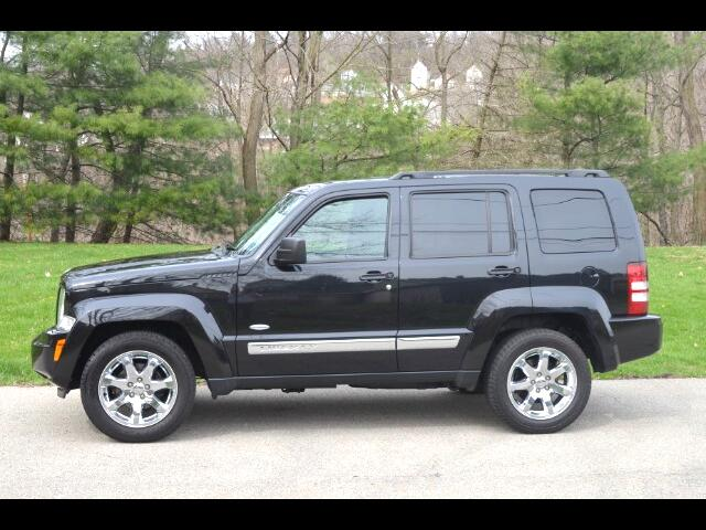2012 Jeep Liberty Sport 4wd with Latitude Package