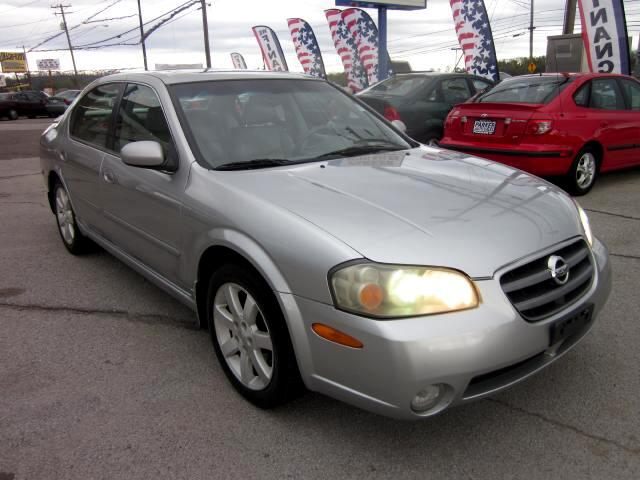 2003 Nissan Maxima THE HOME OF THE 299 TOTAL DOWN PAYMENT Visit Parker Auto Sales online at wwwpar