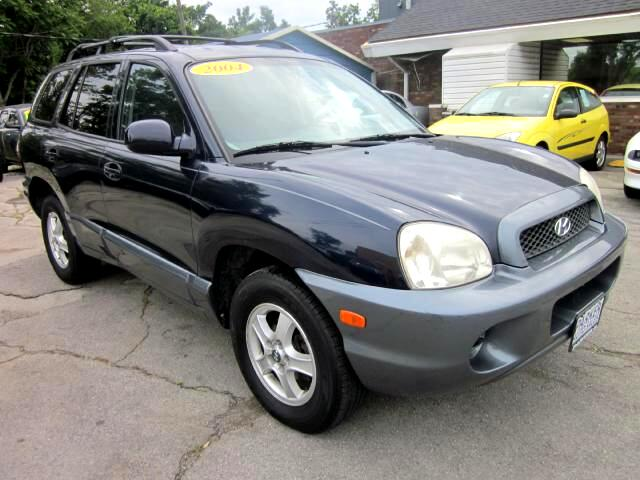 2004 Hyundai Santa Fe THE HOME OF THE 299 TOTAL DOWN PAYMENT Visit Parker Auto Sales online at www