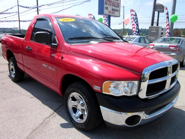 2003 Dodge Ram 1500 THE HOME OF THE 299 TOTAL DOWN PAYMENT Visit Parker Auto Sales online at wwwpa