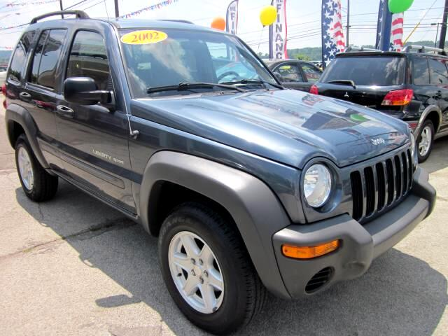 2002 Jeep Liberty THE HOME OF THE 299 TOTAL DOWN PAYMENT Visit Parker Auto Sales online at wwwpark