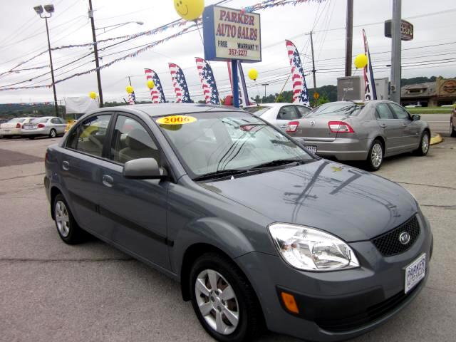 2006 Kia Rio THE HOME OF THE 299 TOTAL DOWN PAYMENT Visit Parker Auto Sales online at wwwparkeraut