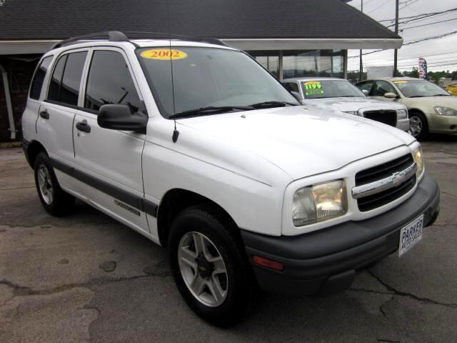 2002 Chevrolet Tracker THE HOME OF THE 299 TOTAL DOWN PAYMENT Visit Parker Auto Sales online at www