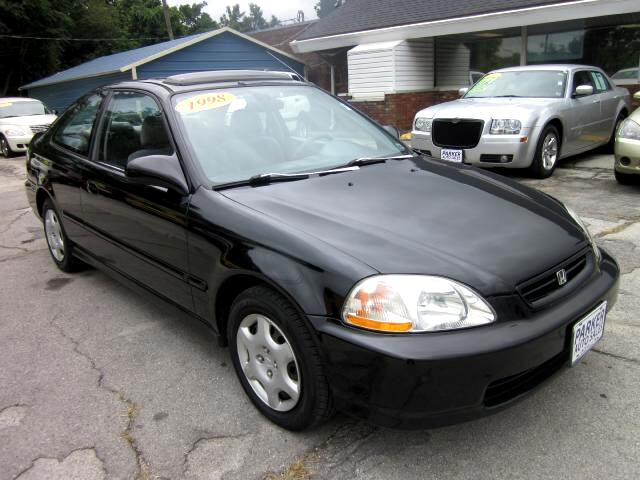 1998 Honda Civic THE HOME OF THE 299 TOTAL DOWN PAYMENT Visit Parker Auto Sales online at wwwparke