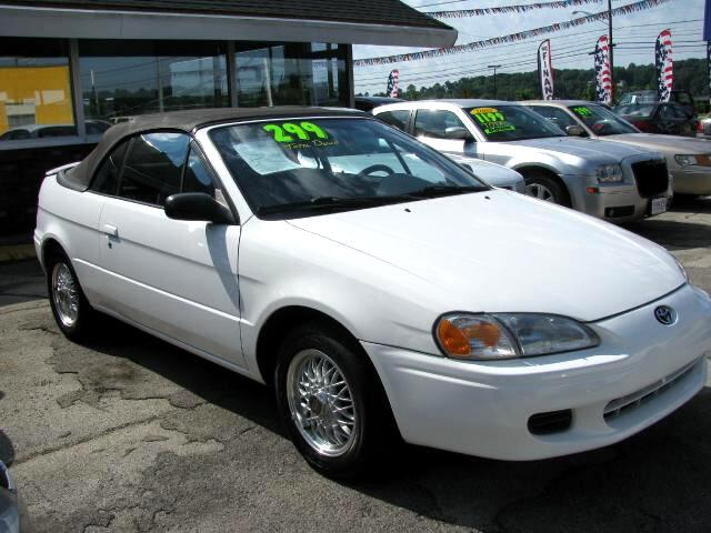 1997 Toyota Paseo THE HOME OF THE 299 TOTAL DOWN PAYMENT Visit Parker Auto Sales online at wwwpark