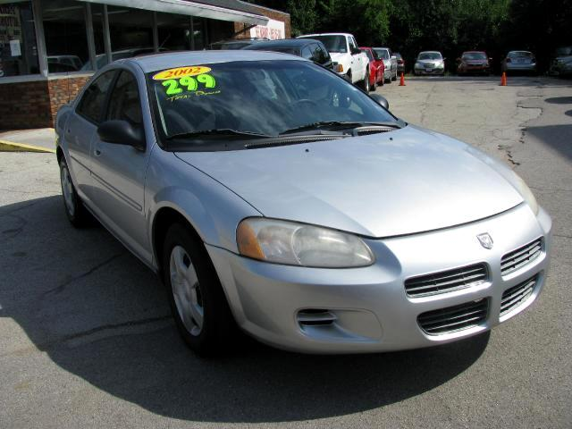2002 Dodge Stratus THE HOME OF THE 299 TOTAL DOWN PAYMENT Visit Parker Auto Sales online at wwwpar