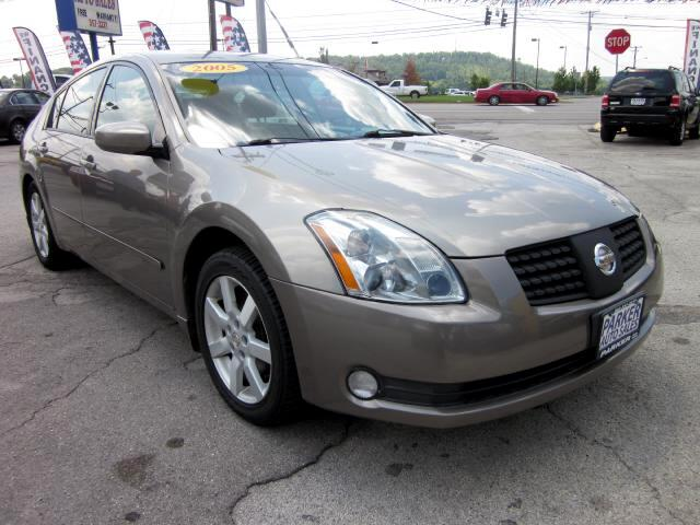 2005 Nissan Maxima THE HOME OF THE 299 TOTAL DOWN PAYMENT Visit Parker Auto Sales online at wwwpar