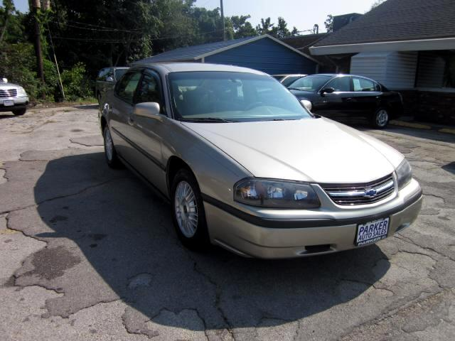 2001 Chevrolet Impala THE HOME OF THE 299 TOTAL DOWN PAYMENT Visit Parker Auto Sales online at www