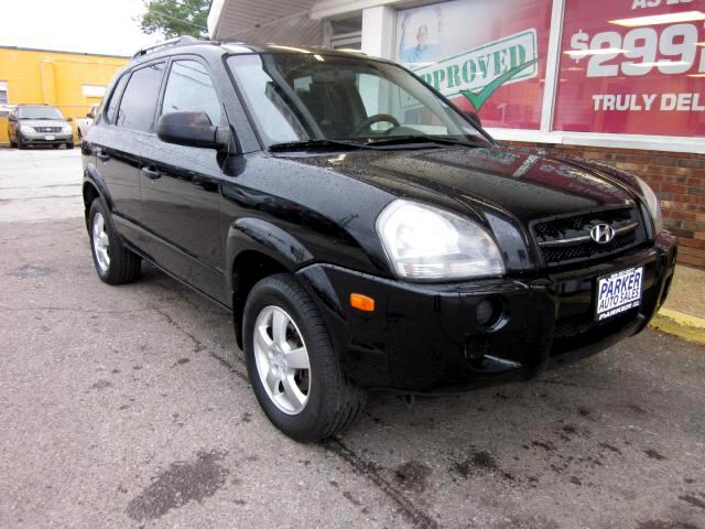 2007 Hyundai Tucson THE HOME OF THE 299 TOTAL DOWN PAYMENT Visit Parker Auto Sales online at wwwpa
