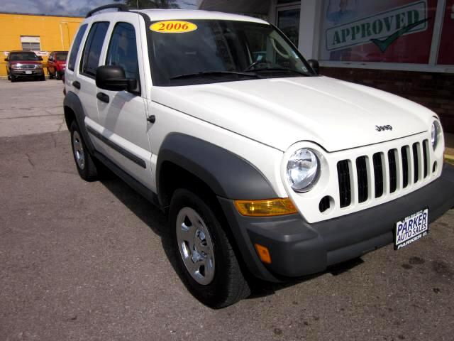 2006 Jeep Liberty THE HOME OF THE 299 TOTAL DOWN PAYMENT Visit Parker Auto Sales online at wwwpark