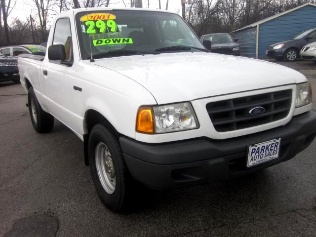 2003 Ford Ranger THE HOME OF THE 299 TOTAL DOWN PAYMENT Visit Parker Auto Sales online at wwwparke