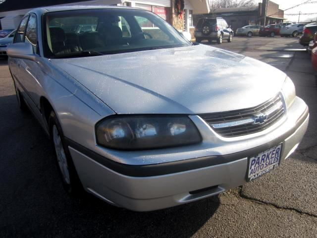 2002 Chevrolet Impala THE HOME OF THE 299 TOTAL DOWN PAYMENT Visit Parker Auto Sales online at www
