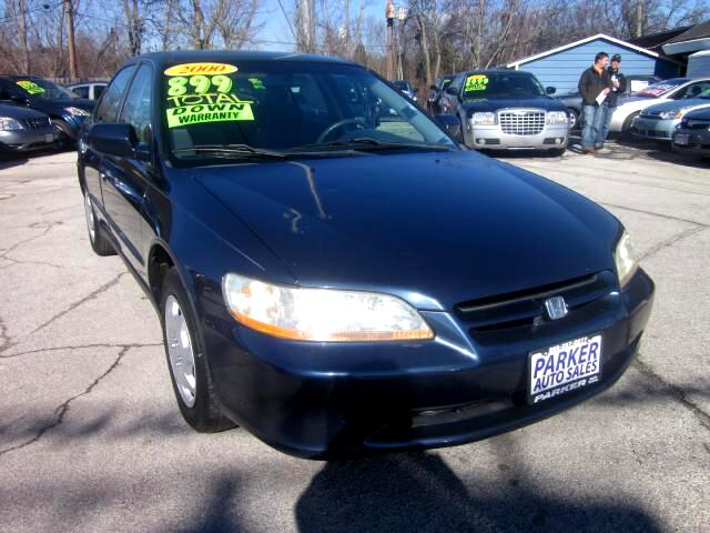 2000 Honda Accord THE HOME OF THE 299 TOTAL DOWN PAYMENT Visit Parker Auto Sales online at wwwpark