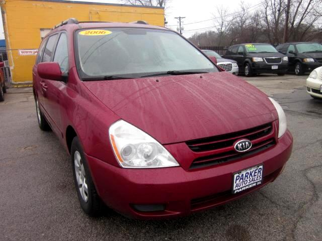 2006 Kia Sedona THE HOME OF THE 299 TOTAL DOWN PAYMENT Visit Parker Auto Sales online at wwwparke